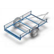 Brentex priekabos konstrukcija
